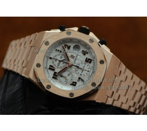 "AUDEMARS PIGUET ROYAL OAK OFF SHORE ROSE GOLD  FOM "" JF """