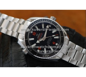 KW 1:1 OMEGA PLANET OCEAN 42MM CERAMIC BEZEL. A8500