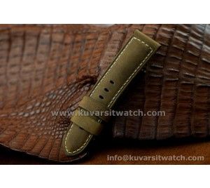 PANERAI SPECIAL ASSOLUTAMENTE STRAP.GENUINE CALF LEATHER 24/22 -115/75