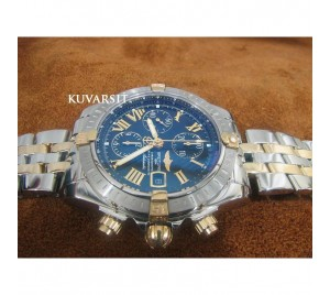 REPLICA BREITLING CHRONOMAT EVOLUTION BLUE DIAL V2