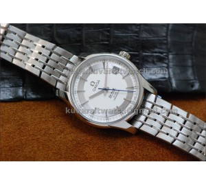 1:1 OMEGA DE VILLE HOUR VISION CO-AXIAL WHITE DIAL . A8500 FROM '' V6 ''