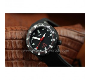SINN U1 MATTE CARBON BLACK PVD SWISS ETA. ULTIMATE EDITION
