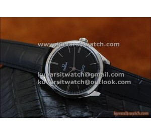 BEST EDITION OMEGA MASTER CO-AXIAL DE VILLE TRESOR 40MM BLACK DIAL .A8511 . FROM '' KW ''