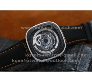 SEVENFRIDAY P3-3 1:1 BEST VERSION WITH MIYOTA 82S7 BLACK DIAL