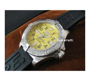 REPLICA BREITLING 2009 AVENGER SEA-WOLF YELLOW. SWISS SUMMIT