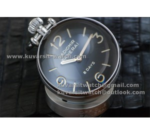 BEST EDITION PANERAI PAM581 TABLE CLOCK 65MM  8 DAYS FROM '' KW ''