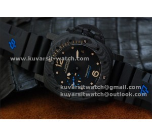 "BEST EDITION PANERAI PAM 616 CARBOTECH  REAL CARBON. P.9000 MOVEMENT FROM "" KW """