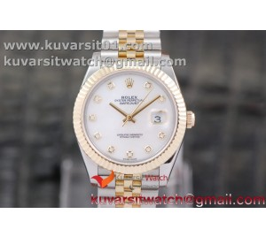 DATEJUST 40MM 18K YG WRAPPED 3A BEST EDITION WHITE MOP DIAL ON NEW VERSION JUBILEE BRACELET
