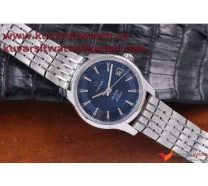1:1 OMEGA DE VILLE HOUR VISION CO-AXIAL SS/SS BLUE DIAL . A8500 FROM '' V6 ''