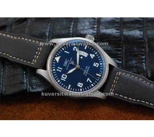 "IWC MARK XVII LE PETIT PRINCE BLUE DIAL BEST EDITION FROM "" V6 "" FACTORY..A2892"