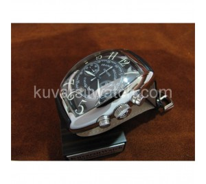 FRANCK MULLER 8885 CASABLANCA 7750 AUTOCHRONO. LEATHER BAND