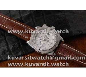 BREITLING CHRONOMAT EVOLUTION SS/LE WHITE A7750