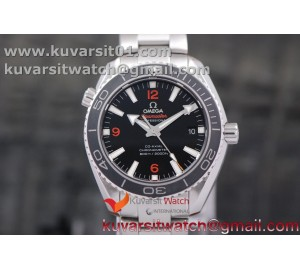 PLANET OCEAN PROFESSIONAL CERAMIC BEZEL(ORANGE369) 42MM 1:1 MK BEST EDITION ON SS BRACELET A8500
