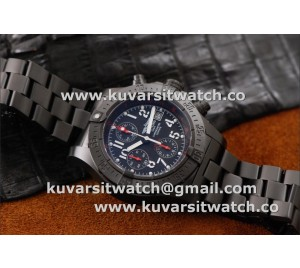"NEW BREITLING SKYLAND AVENGER DLC BLACKSTEEL 45MM V2 FROM ""HF"""