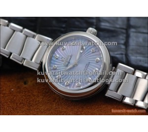 "OMEGA LADYMATIC 1:1 COPY SS/SS BLUE  8520 MOVEMENT FROM "" V6 """
