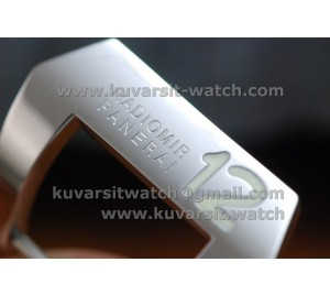 PANERAI 24MM STA INLESS STEEL '' 12 '' TANG BUCKLE