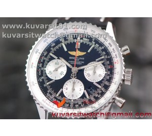 "BREITLING NAVITIMER 01 SS/LE BLACK A7750 AUTOCHRONO 1:1 FROM ""JF"""