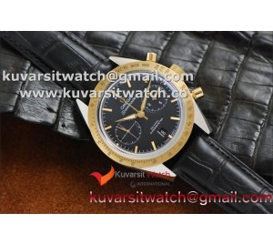 OMEGA SPEEDMASTER MOONWATCH CO-AXIAL '57 SS CHRONO YG BEZEL BLACK DIAL.A9300