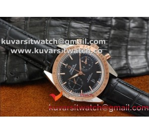 OMEGA SPEEDMASTER MOONWATCH CO-AXIAL '57 SS CHRONO RG/ BLACK.A9300
