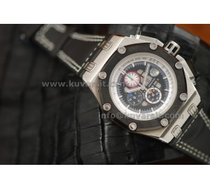 AUDEMARS PIGUET RUBENS BARRICHELLO SS/BLACK.QC
