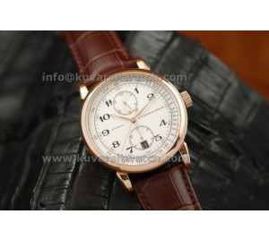 A. LANGE&SOHNE GLASHUTTE ROSE GOLD AUTOMATIC