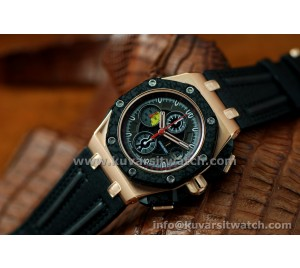 1:1 AUDEMARS PIGUET ROYAL OAK OFFSHORE GRAND PRIX ROSE GOLD ULTIMATE EDT.FORGED CARBON