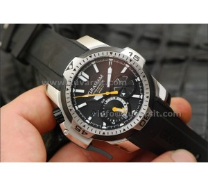 GRAHAM CHRONOFIGHTER PRODIVE BLACK/SS..45mm