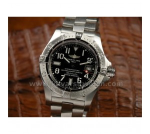 REPLICA BREITLING AVENGER SEAWOLF SWISS SS/SS BLACK DIAL.PERFECT