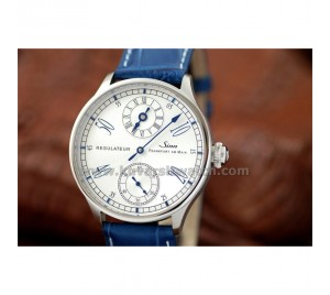 SINN 6100 REGULATEUR IN STEEL BLUED HANDS 1:1 PERFECT REPLICA