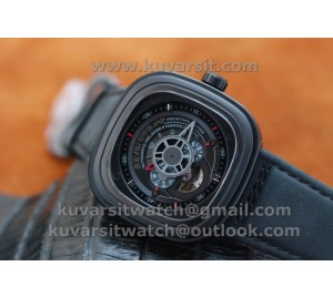 SEVENFRIDAY P3-1 1:1 BEST VERSION WITH MIYOTA 82S7 BLACK DIAL