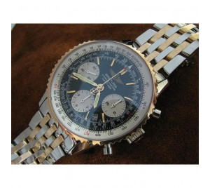 REPLICA BREITLING NAVITIMER TWO TONE/SS. V3 UPGRADE