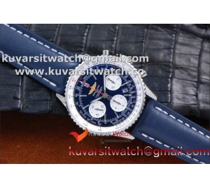 "BREITLING NAVITIMER 01 SS/LE BLUE A7750 AUTOCHRONO 1:1 FROM ""JF"""