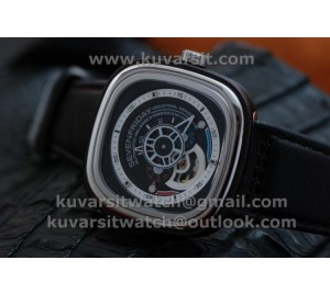 SEVENFRIDAY P3-2 1:1 BEST VERSION WITH MIYOTA 82S7 BLACK DIAL